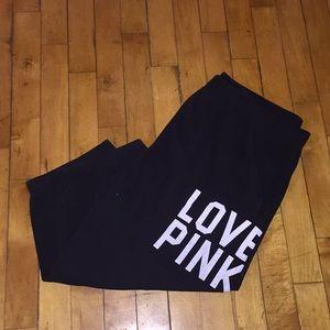 Free ⭐️ Victoria's Secret Pink Capri Sweatpants